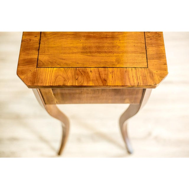Biedermeier Sewing Table, a Classic of the Style, circa 1860 For Sale - Image 10 of 11