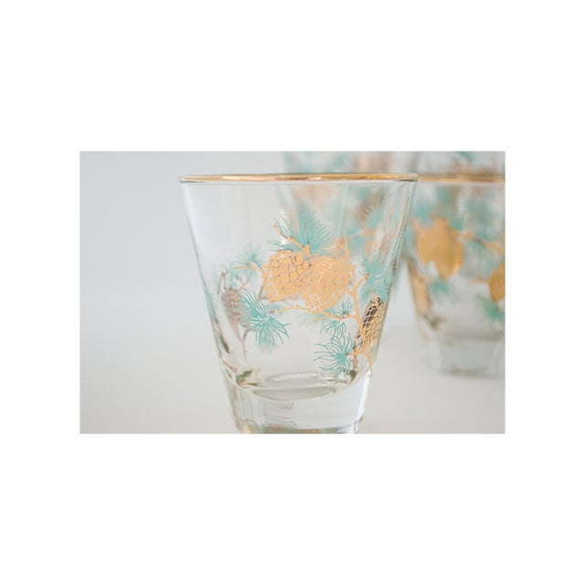 Set of 6 Pinecone Juice Glass by David Douglas for Libbey - Image 4 of 6