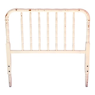 Antique Brass Twin Headboard For Sale