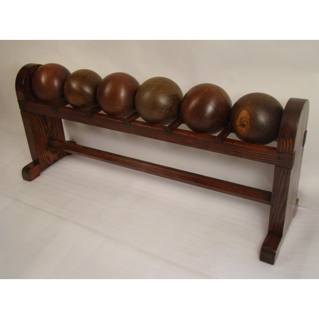 Antique bowling balls were first made of this Iron wood as it was also called. The proper name is Lignum Vitae. Its the...
