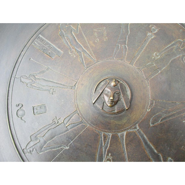 Egyptian Revival Bronze Tazza For Sale - Image 12 of 13