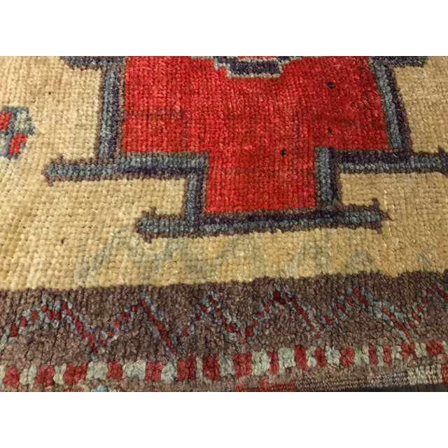 Bellwether Rugs Tribal Pattern Vintage Turkish Oushak Rug - 2′10″ × 12′3″ - Image 11 of 11