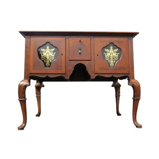 1920s Chippendale Tobey Furniture Company Walnut and Burl Lowboy Preview