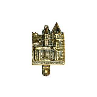 Scottish John O' Groats Brass Door Knocker For Sale
