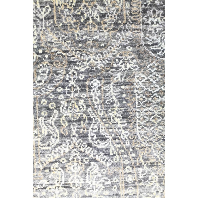 """Contemporary Contemporary Hand-Knotted Area Rug 6' 0"""" x 8' 0"""" For Sale - Image 3 of 4"""