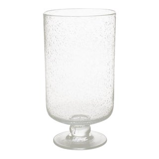 Kenneth Ludwig Chicago Large Bubble Glass Hurricane For Sale