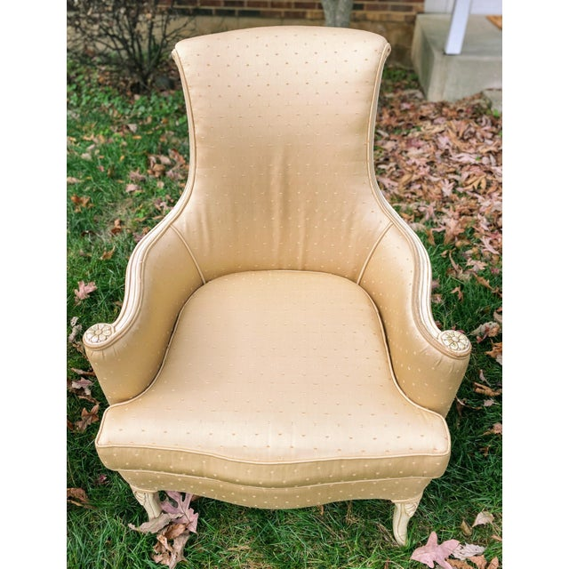 Not Yet Made - Made To Order Victorian Scroll Back Arm Chairs - a Pair For Sale - Image 5 of 7