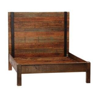 Reclaimed Wood Bed Frame Queen