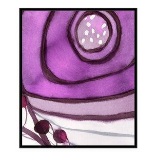 Parasol Canvas - Hand Embellished For Sale