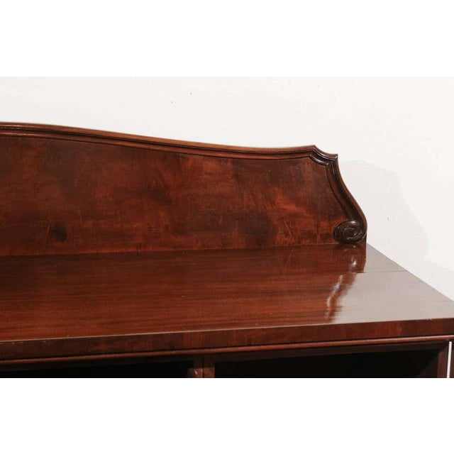 Late 19th Century William IV Mahogany Pedestal Sideboard For Sale - Image 5 of 11