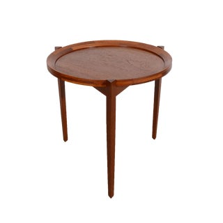 Sika Mobler Danish Modern Teak Tray Coffee Table For Sale