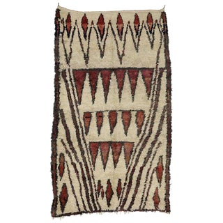 20th Century Moroccan Berber Tribal Style Rug