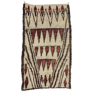 20th Century Moroccan Berber Tribal Style Rug