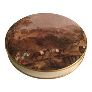 1980s Limoges Bonboniere Box For Sale
