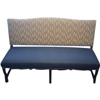 Traditional Banquette With Nails For Sale