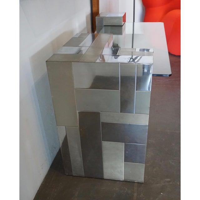"1960s Paul Evans ""Cityscape"" Desk or Console For Sale - Image 5 of 8"