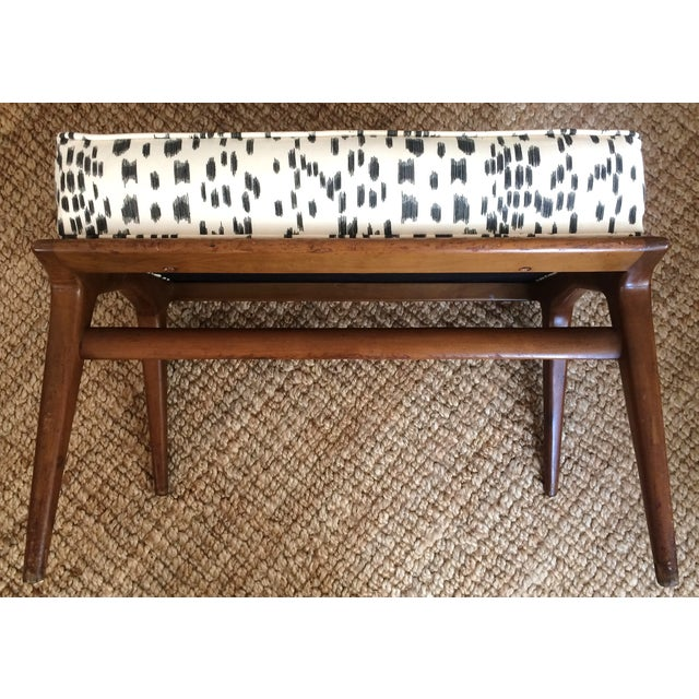 Modern 'Les Touches' Recovered Carlo DI Carli Modern Ottoman For Sale - Image 3 of 6