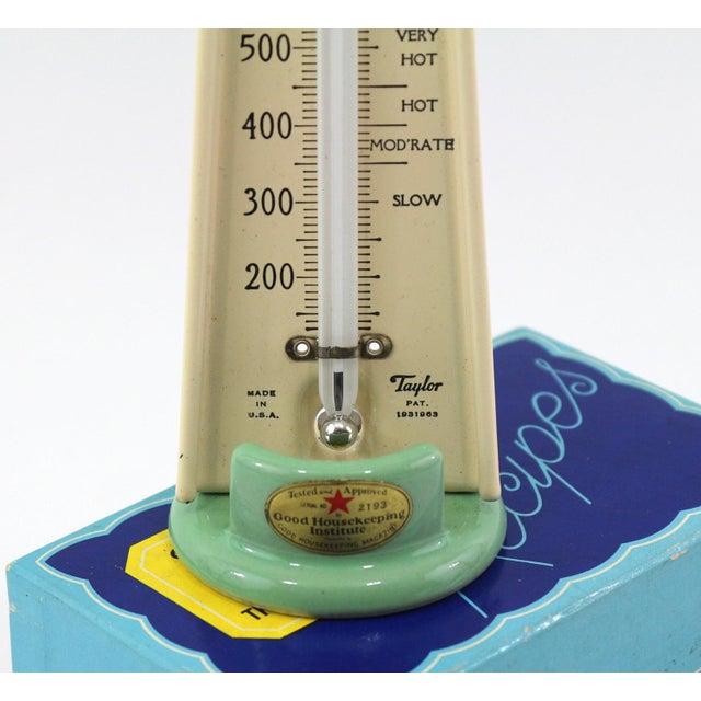 1930s Oven Thermometer & Original Recipe Box - Image 3 of 7