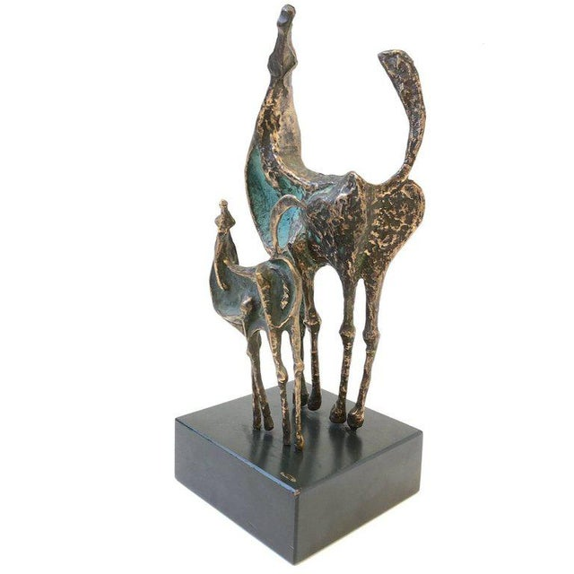 Bronze Horses Sculpture by Curtis Jere For Sale - Image 10 of 10