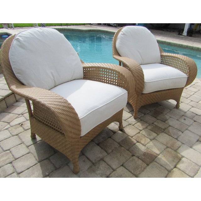 Century Furniture Oscar De La Renta by Century Furniture Accent Chairs - a Pair For Sale - Image 4 of 9