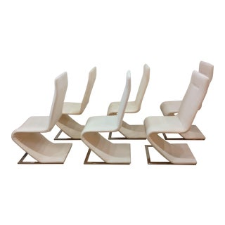 Roger Rougier Dining Chairs - Set of 6