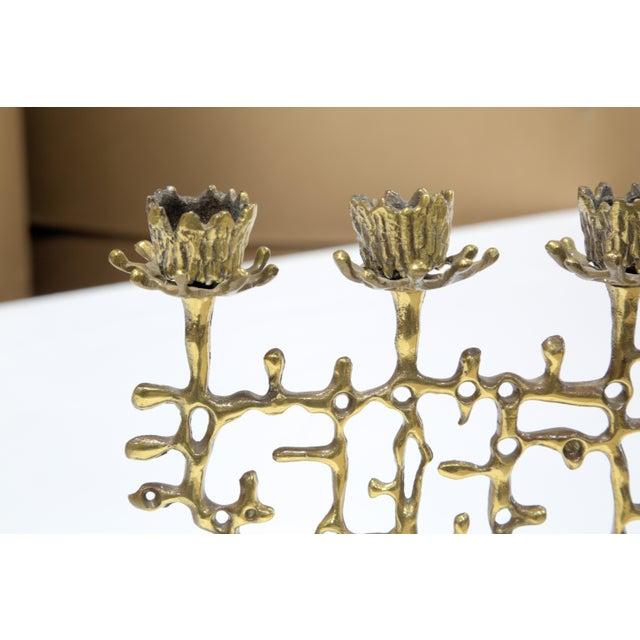Brutalist Judaica Candleholder - Image 4 of 5
