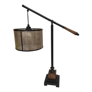Mica Shade 1930's Style Lamp For Sale