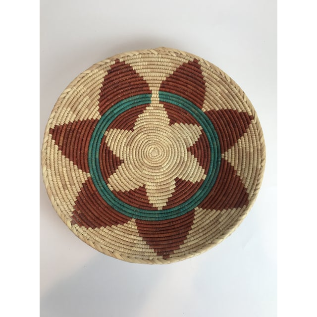 2010s Woven Native American Style Wedding Basket For Sale - Image 5 of 5