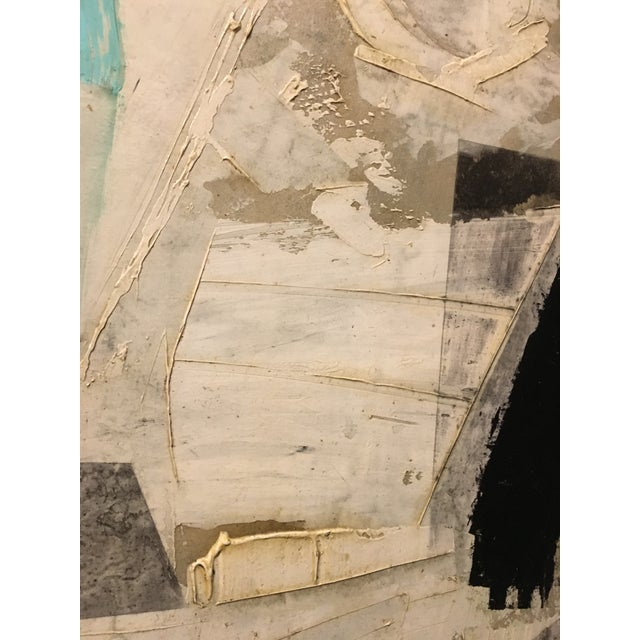 1960s Vintage Abstract Painting by Graham Harman For Sale In Charleston - Image 6 of 7