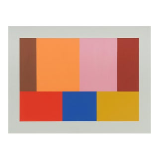 "Tom McGlynn ""Large Test Pattern 7"", Painting For Sale"