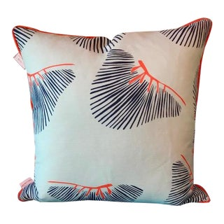 Palmetto Pillow by Cotton and Quill For Sale