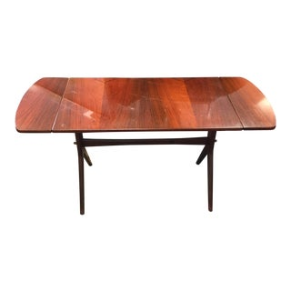 Modernist Swedish Rosewood Accent Table