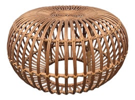 Image of Rattan Ottomans and Footstools