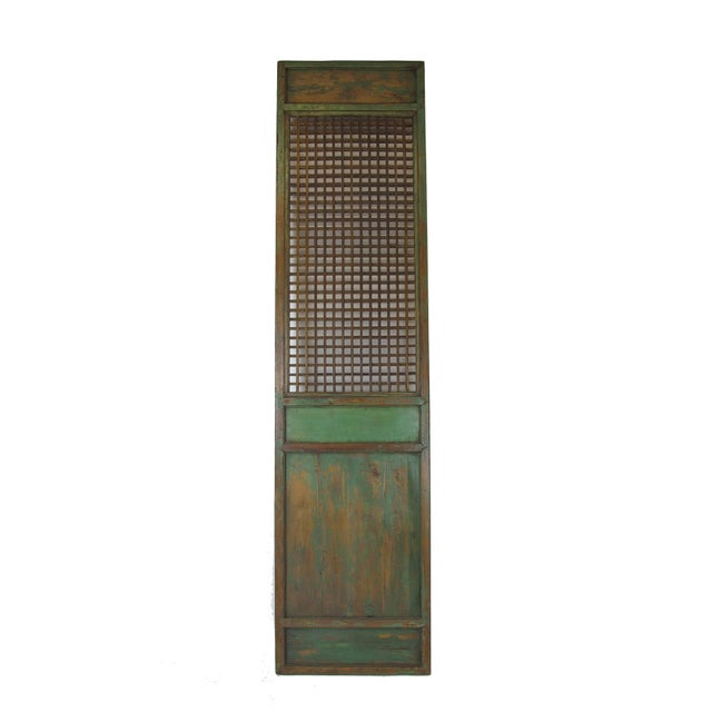1900s Antique Chinese Lattice Panels- Set of 6 For Sale - Image 4 of 9