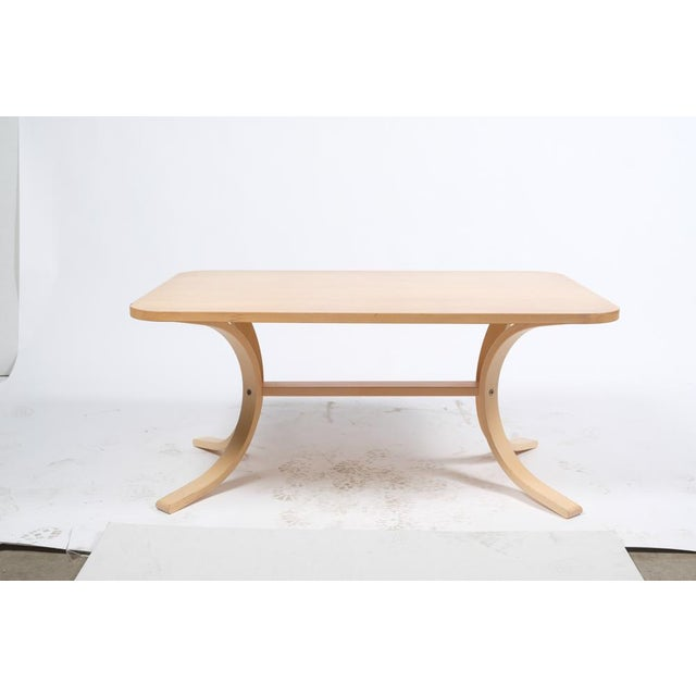 Asko Mid-Century Modern-Style Birch Coffee Table For Sale - Image 11 of 11