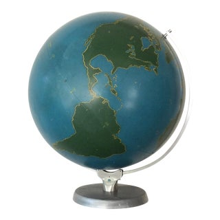 Mid Century a.j. Nystrom Slated Military Project Globe For Sale