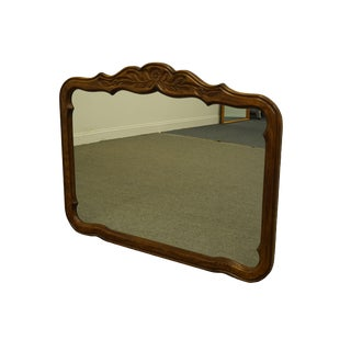 Drexel Heritage Cabernet II Collection Walnut Italian Provincial Dresser / Wall Mirror For Sale