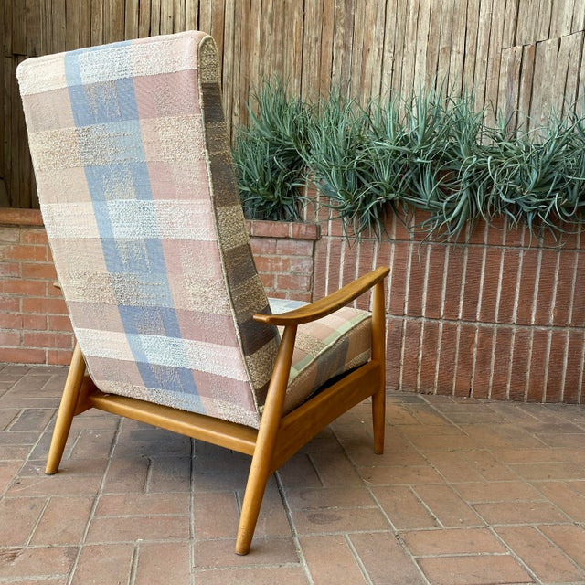 Mid-Century Modern Milo Baughman for James Inc Recliner Lounge Chair For Sale - Image 9 of 12