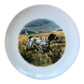 Vintage Ak Kaiser West Germany Hunting Dog Plate For Sale