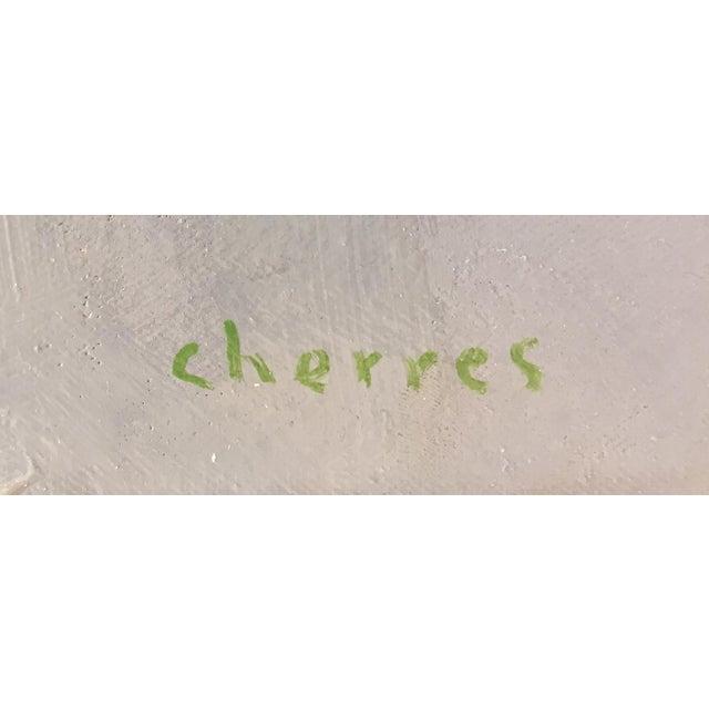 "Aldo Cherres Cherres Oil Painting ""Five Senses, Taste"", Contemporary Colorful Figurative Work For Sale - Image 4 of 8"