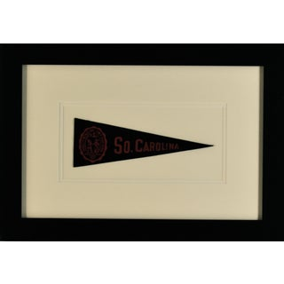 1940s Americana South Caroline University Pennant For Sale