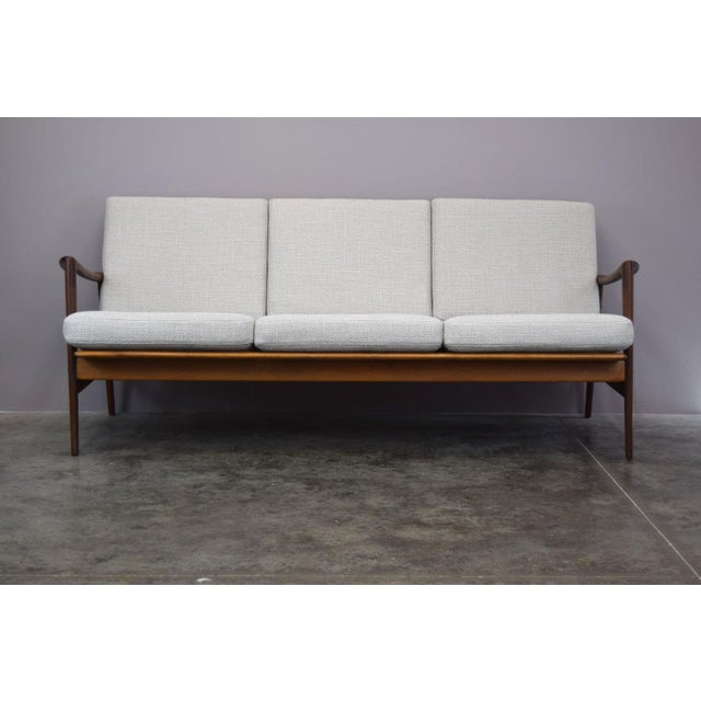 Top Norwegian designer Adolf Relling (of Rastad & Relling fame) designed this beautiful sofa in the 1960s. We've given the...