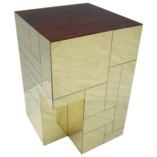 Paul Evans Cityscape Side Table For Sale