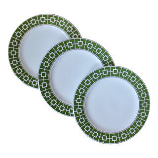 Contemporary Jonathan Adler Salad Plates - Set of 3 For Sale