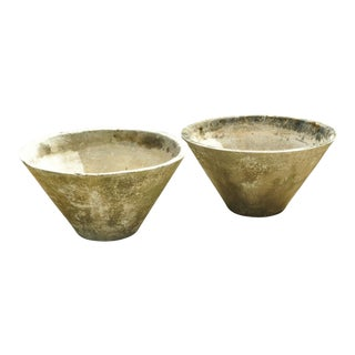 Willy Guhl Cone Form Planters, Switzerland 1960s For Sale