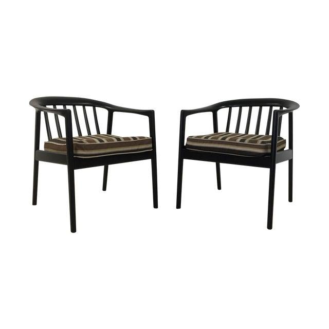 Dux Folke Ohlson Danish Modern Chairs - A Pair For Sale