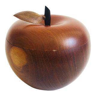 Vintage Wood Apple Box For Sale