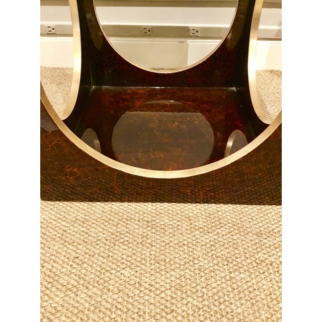 Roulette Side Table For Sale In Atlanta - Image 6 of 7