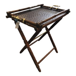Ralph Lauren Folding Table For Sale