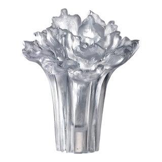 Liuli Crystal Art Crystal Peony Bloom (Limited Edition) For Sale